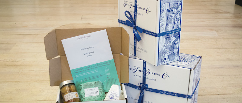 The Fine Cheese Co. Multiple Delivery Address