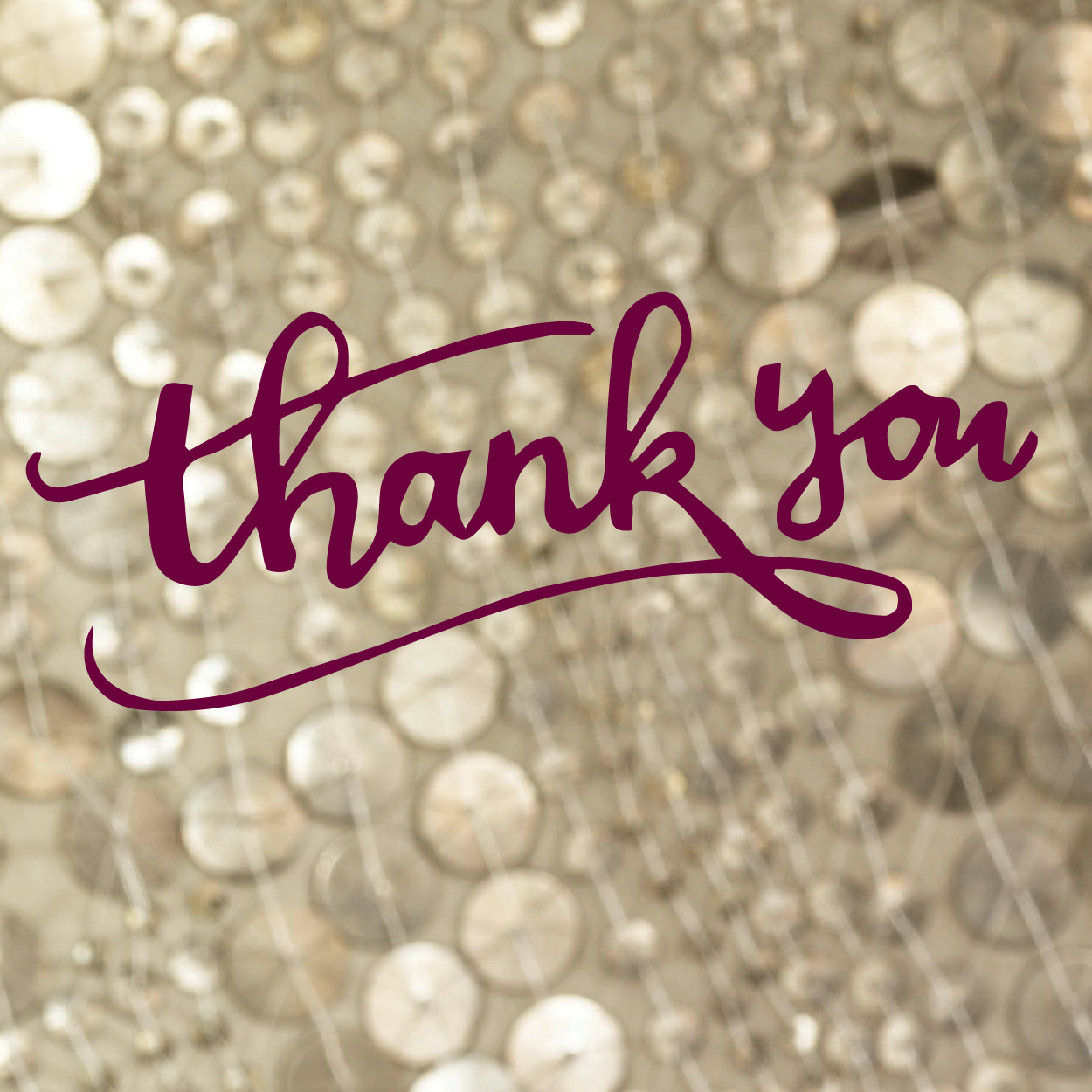 A Christmas Thank You to all of Our Wonderful Customers