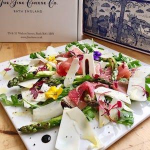 Recipe: Grilled Asparagus Salad with Prosciutto Ham & Ricotta Stagionata