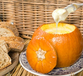 Claire's Baked Pumpkin Fondue